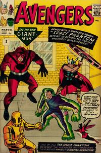 Cover Thumbnail for The Avengers (Marvel, 1963 series) #2 [British Price Variant]