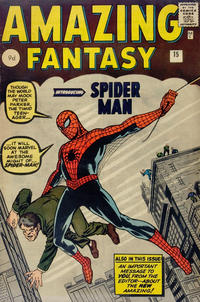 Cover Thumbnail for Amazing Fantasy (Marvel, 1962 series) #15 [British Price Variant]