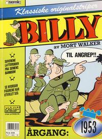 Cover Thumbnail for Billy Klassiske originalstriper (Semic, 1989 series) #1953 [2. opplag]