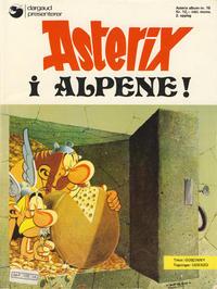 Cover Thumbnail for Asterix (Hjemmet / Egmont, 1969 series) #16 - Asterix i alpene! [2. opplag]