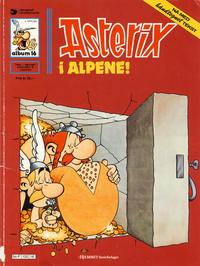 Cover for Asterix (Hjemmet / Egmont, 1969 series) #16 - Asterix i alpene! [1. opplag]