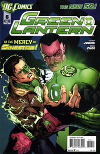 Cover Thumbnail for Green Lantern (DC, 2011 series) #6 [Direct Sales]