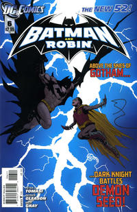 Cover Thumbnail for Batman and Robin (DC, 2011 series) #6