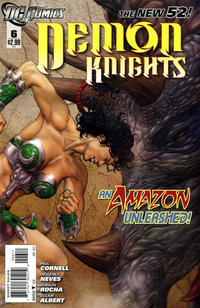 Cover Thumbnail for Demon Knights (DC, 2011 series) #6