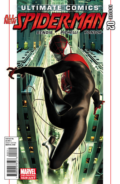 Cover for Ultimate Comics Spider-Man (Marvel, 2011 series) #2