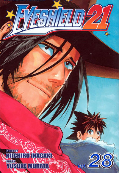 Cover for Eyeshield 21 (Viz, 2005 series) #28
