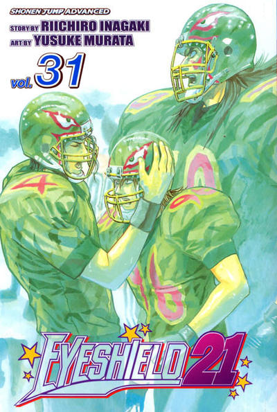 Cover for Eyeshield 21 (Viz, 2005 series) #31