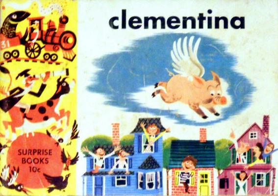 Cover for Clementina, the Flying Pig (Dell, 1950 series)
