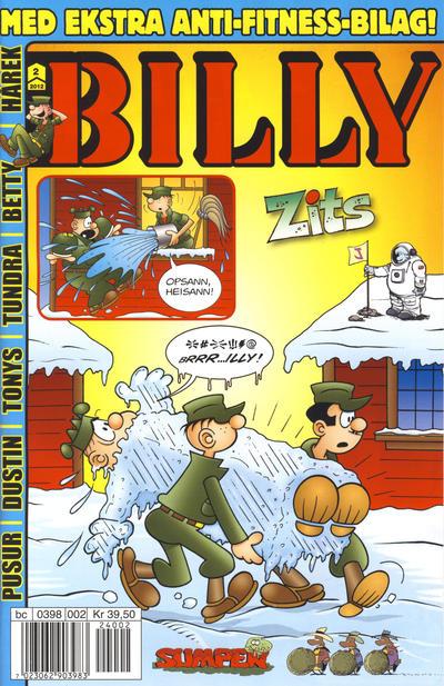 Cover for Billy (Hjemmet / Egmont, 1998 series) #2/2012