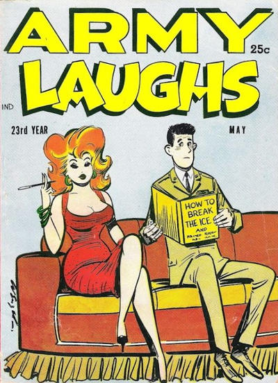 Cover for Army Laughs (Prize, 1951 series) #v6#6