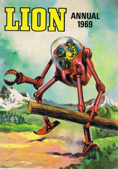 Cover for Lion Annual (Fleetway Publications, 1954 series) #1969