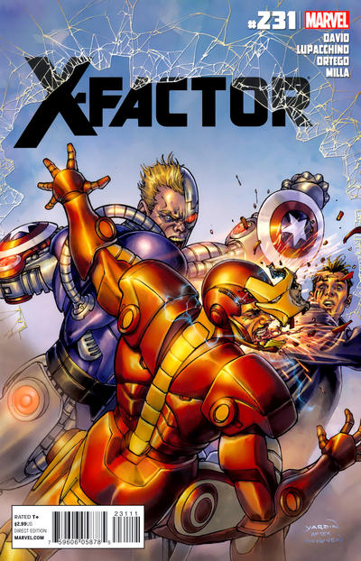 Cover for X-Factor (Marvel, 2006 series) #231
