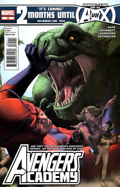 Cover for Avengers Academy (Marvel, 2010 series) #25