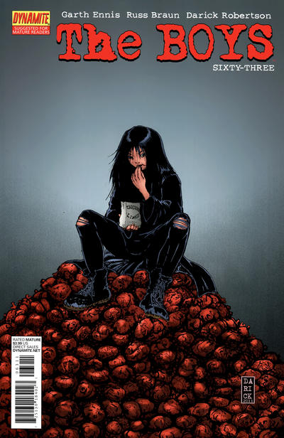 Cover for The Boys (Dynamite Entertainment, 2007 series) #63