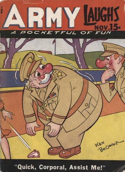 Cover for Army Laughs (Prize, 1941 series) #v5#8
