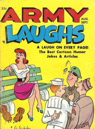 Cover for Army Laughs (Prize, 1951 series) #v2#8