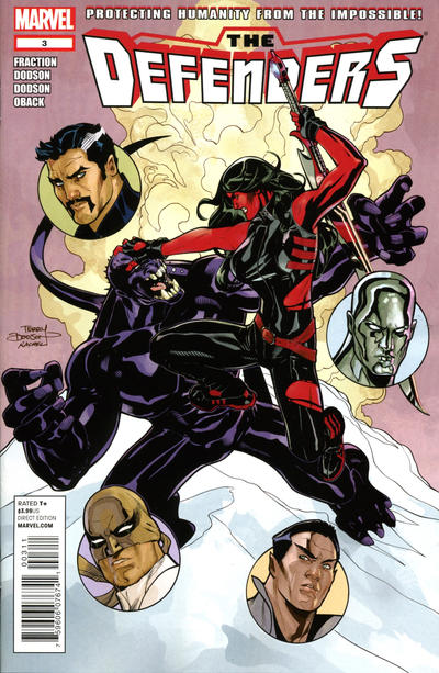 Cover for Defenders (Marvel, 2012 series) #3