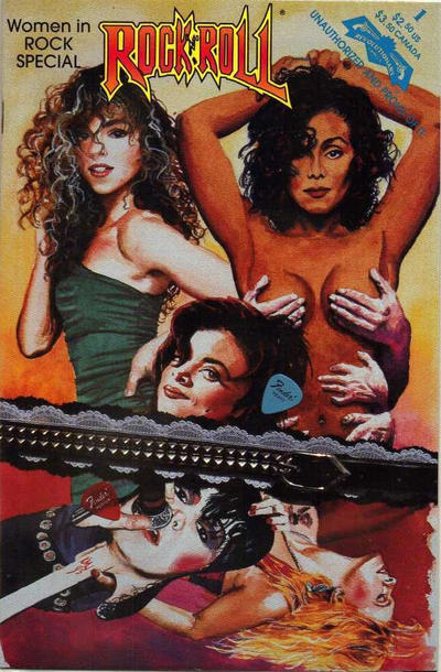 Cover for Women in Rock (Revolutionary, 1993 series) #1