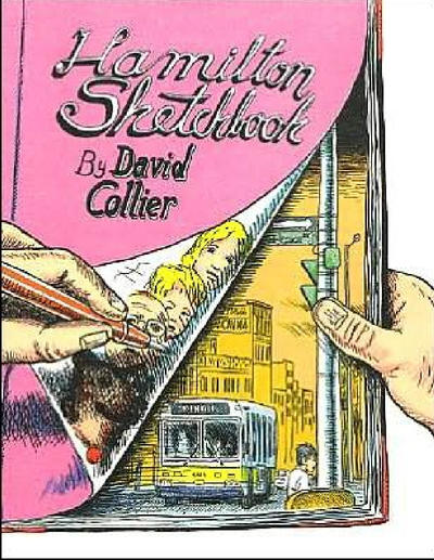 Cover for Hamilton Sketchbook (Drawn & Quarterly, 2002 series)