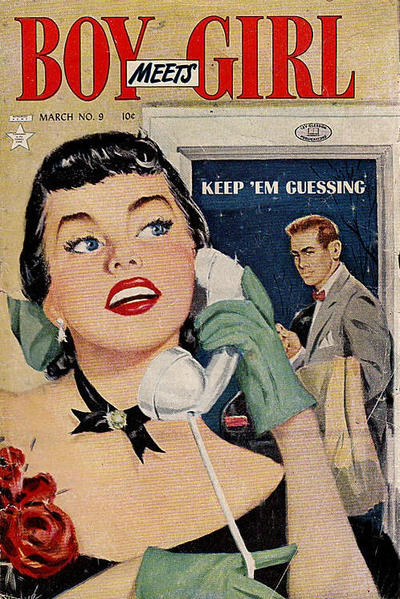Cover for Boy Meets Girl (Lev Gleason, 1950 series) #9