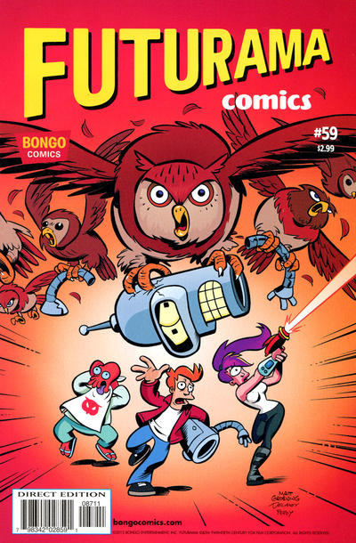 Cover for Bongo Comics Presents Futurama Comics (Bongo, 2000 series) #59