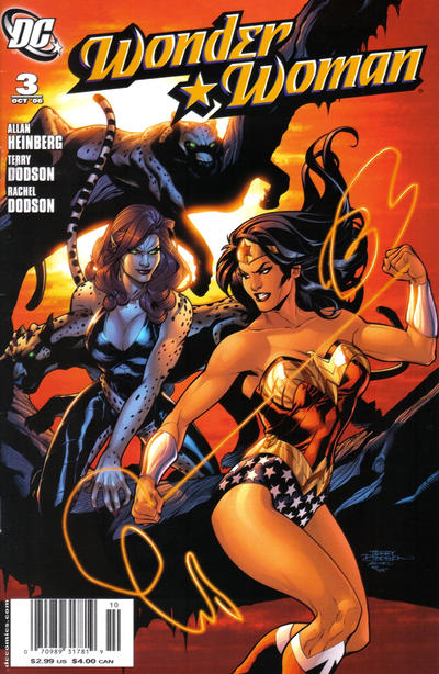 Cover for Wonder Woman (DC, 2006 series) #3