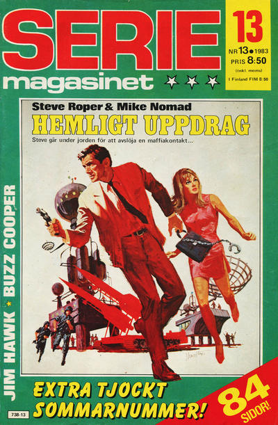 Cover for Seriemagasinet (Semic, 1970 series) #13/1983