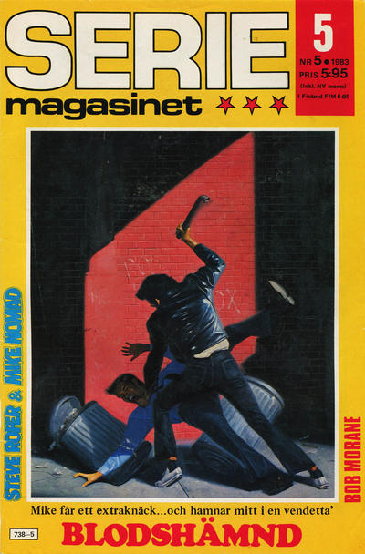 Cover for Seriemagasinet (Semic, 1970 series) #5/1983