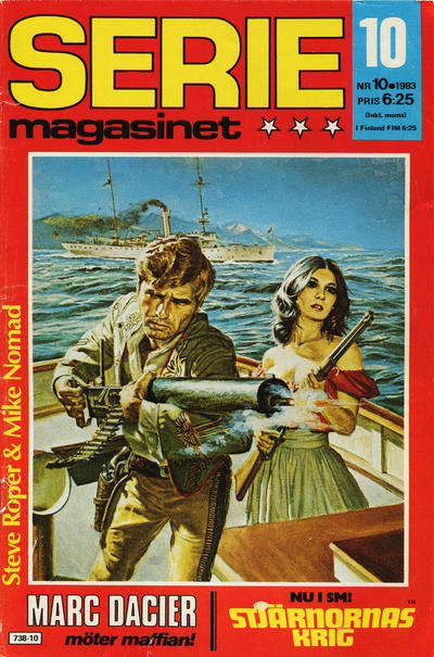 Cover for Seriemagasinet (Semic, 1970 series) #10/1983
