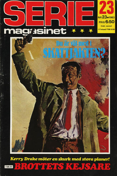 Cover for Seriemagasinet (Semic, 1970 series) #23/1983