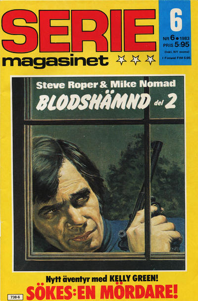 Cover for Seriemagasinet (Semic, 1970 series) #6/1983