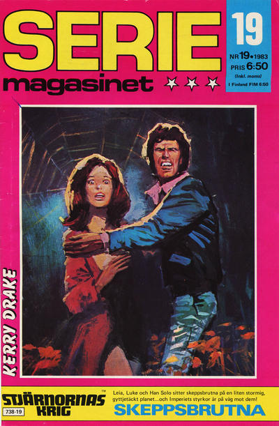 Cover for Seriemagasinet (Semic, 1970 series) #19/1983