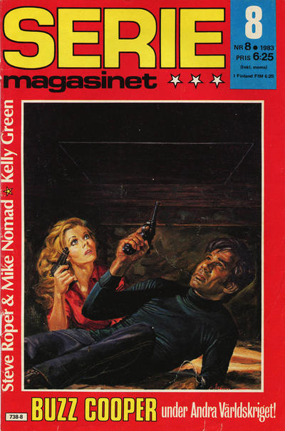 Cover for Seriemagasinet (Semic, 1970 series) #8/1983
