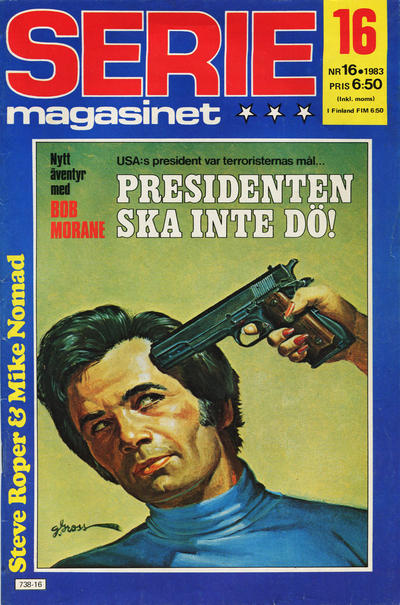 Cover for Seriemagasinet (Semic, 1970 series) #16/1983