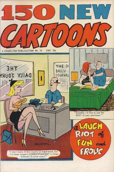Cover for 150 New Cartoons (Charlton, 1962 series) #15