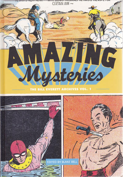 Cover for The Bill Everett Archives (Fantagraphics, 2011 series) #1 - Amazing Mysteries