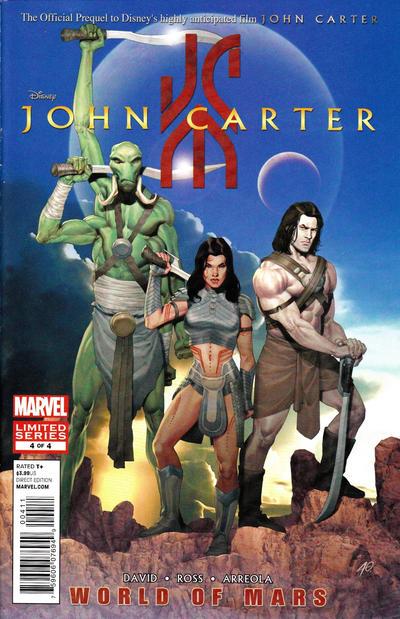 Cover for John Carter: The World of Mars (Marvel, 2011 series) #4