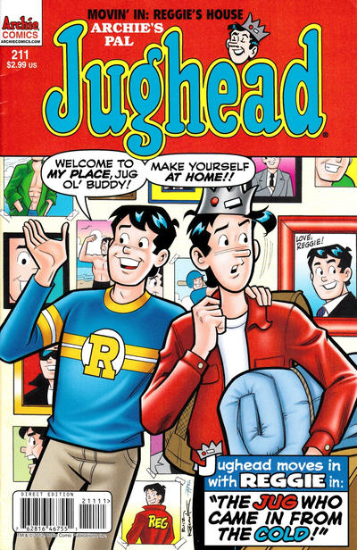 Cover for Archie's Pal Jughead Comics (Archie, 1993 series) #211 [Direct Edition]