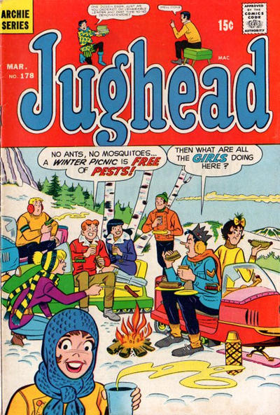 Cover for Jughead (Archie, 1965 series) #178