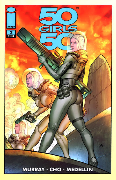 Cover for 50 Girls 50 (Image, 2011 series) #2