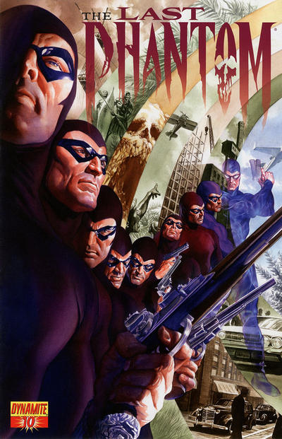 Cover for The Last Phantom (Dynamite Entertainment, 2010 series) #10 [Alex Ross Main Cover]