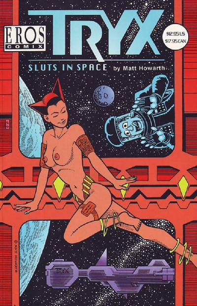 Cover for Tryx: Sluts in Space (Fantagraphics, 1999 series)
