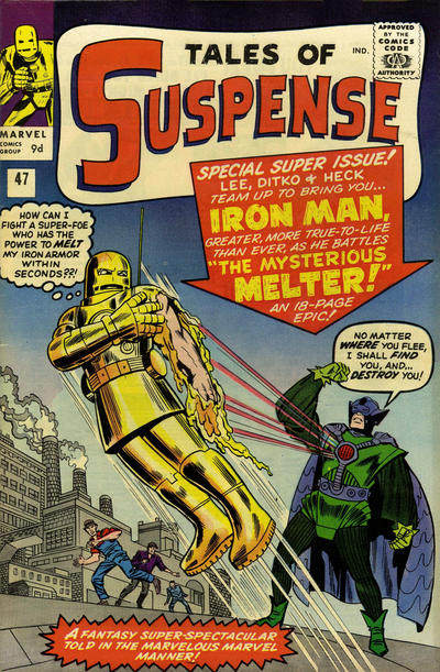 Cover for Tales of Suspense (Marvel, 1959 series) #47