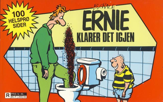 Cover for Ernie [Ernie tverrbok] (Bladkompaniet / Schibsted, 1989 series) #2 - Ernie klarer det igjen