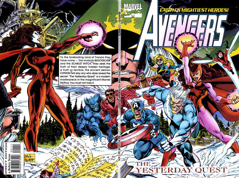 Cover for Avengers: The Yesterday Quest (Marvel, 1994 series)