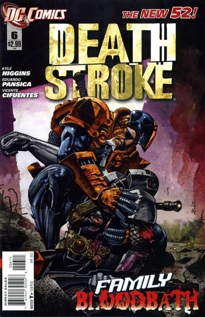 Cover for Deathstroke (DC, 2011 series) #6