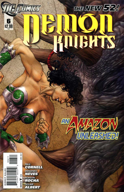 Cover for Demon Knights (DC, 2011 series) #6