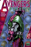 Cover for Avengers Forever (Marvel, 1998 series) #1 [Westfield Comics Variant Cover]