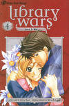 Cover for Library Wars (Viz, 2010 series) #4