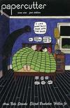 Cover for Papercutter (Tugboat Press; Teenage Dinosaur; Sparkplug Comic Books, 2006 series) #9